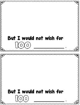 100's Day I Wish Book