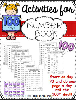 100's Day Number Book