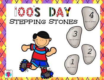 100's Day Stepping Stones
