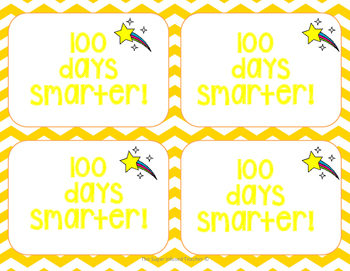 100's Day Tags [Bundle]