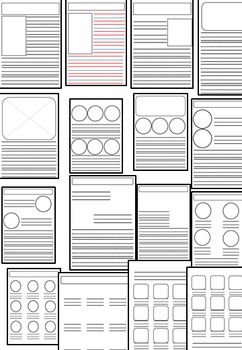 100+Templates/Pages For Worksheet Creations And Personal use