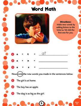 100 words: Kids Need to Read by First Grade Activity Book