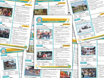 100 x English Conversation Activities