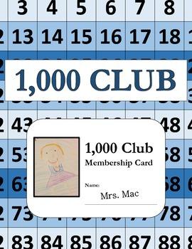 1,000 Club