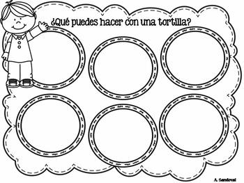 1000 TPT Followers FREEBIE  - Amalia y sus primeras tortillas