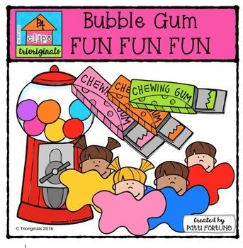 1000 Followers DAY 2 FREEBIE Bubble Gum FUN {P4 Clips Trio