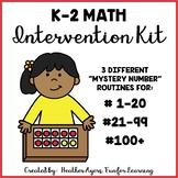 K-2 Math Intervention Kit