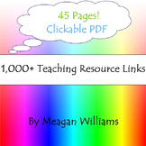 1,000+ Teaching Resource Links Compiliation PDF