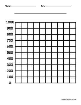 1000 by 1000 Blank Graph Paper