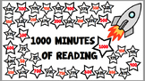 1000 minutes of Reading chart