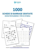 1000+ schede di barrage / 1000+ cancellation tasks