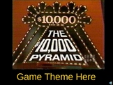 $10,000 Pyramid PowerPoint Game Show template