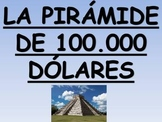 $100,000 Pyramid Spanish Vocabulary Game