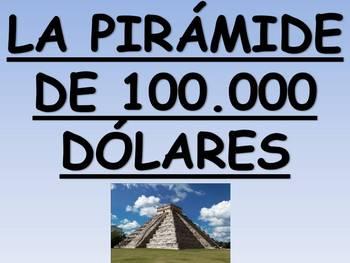 $100,000 Pyramid Spanish Vocabulary Game