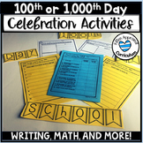 1000th Day Of School Activities ( 100th Day of School Acti