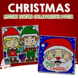 Collaborative Posters Christmas Coloring Packet, Fun Center October Art Activity