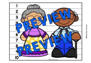 100TH DAY OF SCHOOL ACTIVITIES KINDERGARTEN (NUMBER SENSE CENTER PUZZLES)