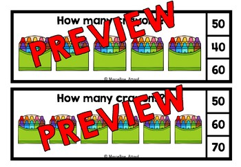 SKIP COUNTING BY 10S CENTERS (100TH DAY OF SCHOOL ACTIVITIES KINDERGARTEN)