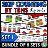 SKIP COUNTING BY 10S CENTERS (100TH DAY OF SCHOOL ACTIVITI