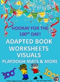 100TH DAY OF SCHOOL ADAPTED BOOK/ACTIVITIES SPECIAL ED, AUTISM.