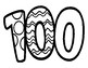 100 DAYS OF SCHOOL, COLORING BUNDLE 23 PAGES, 100TH DAY ACTIVITIES