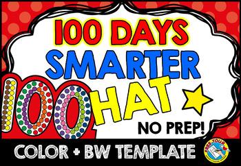 100TH DAY OF SCHOOL KINDERGARTEN ACTIVITY CROWN (100 DAYS SMARTER ...