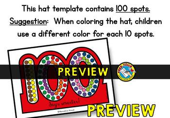 100TH DAY OF SCHOOL ACTIVITY KINDERGARTEN CROWN (100 DAYS SMARTER CRAFT HAT)