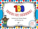 100TH DAY OF SCHOOL - Interactive Practice Game - LA