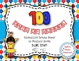 100TH DAY OF SCHOOL - Interactive Practice Game - SO-MI (3-line staff)