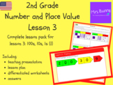 100s, 10s, 10s (1) lesson pack (2nd Grade Number and Place Value)