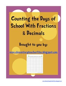 100s Board With Fractions and Decimals