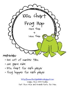 100s Chart Frog Hop