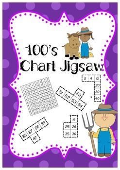 100's Chart Jigsaw Puzzle