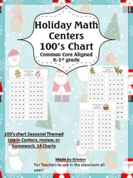 100's Chart Math Center