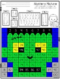 100's Chart Mystery Picture: Frankenstein