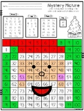 100's Chart Mystery Picture: Santa