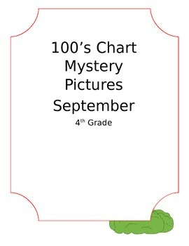 100's Chart Mystery Picture (September)
