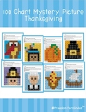 100s Chart Mystery Picture: Thanksgiving Bundle