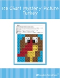 100s Chart Mystery Picture: Thanksgiving Turkey