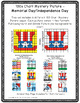100s Chart Mystery Pictures-Patriotic Memorial Day-4th of July-Math Place Value
