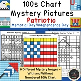 100s Chart Mystery Pictures-Patriotic Memorial Day-4th of
