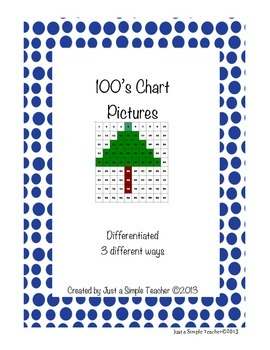 100's Chart Picture FREEBIE
