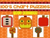 100's Chart Puzzles: Fall Edition