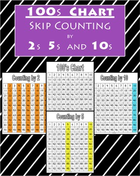 100s Chart and Skip Counting FREEBIE!!!