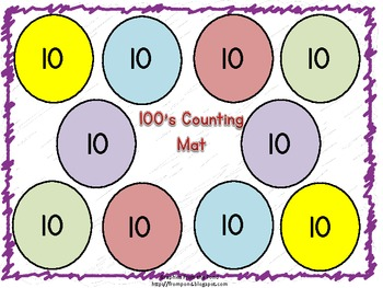 100's Counting Mat