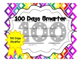 100s Day - 100 Days Smarter Award