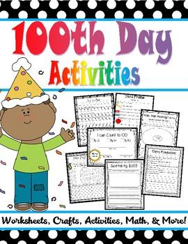 100s Day Activities!