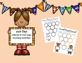 100th Day Cheerio and Froot Loops Counting Activity