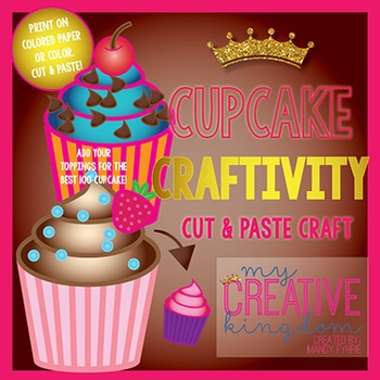 100s Day Cupcake Craftivity