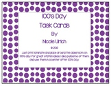 100's Day Task Cards
